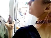Sex von hinten auf dem balkon mit meiner freundin